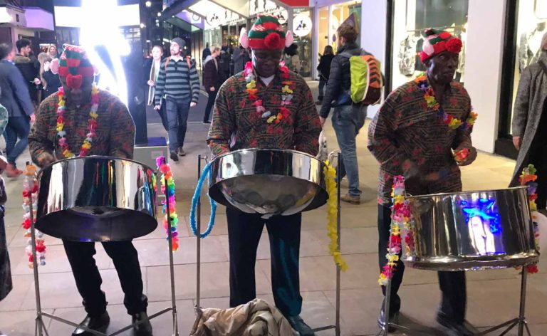 Niteblues Steel Pan Trio, London