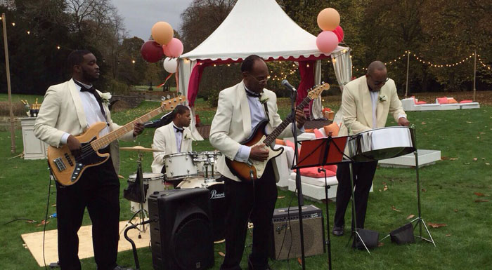 Wade Austin Steel Band for hire in London