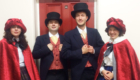 The London Carol Singers as Victorian Carolers