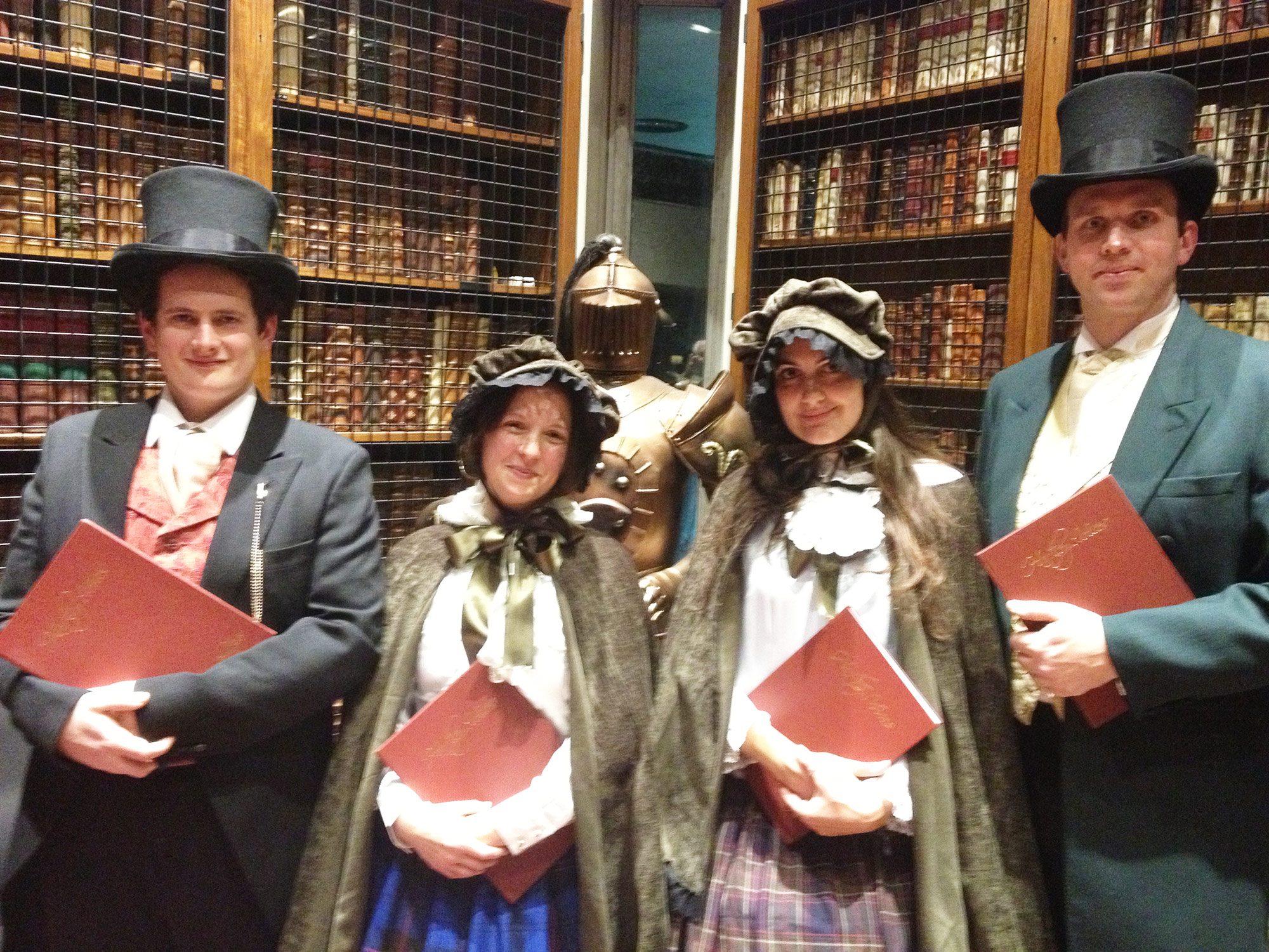The London Carol Singers Christmas Entertainment Victorian Carolers